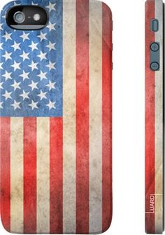 American flag iPhone 5 case