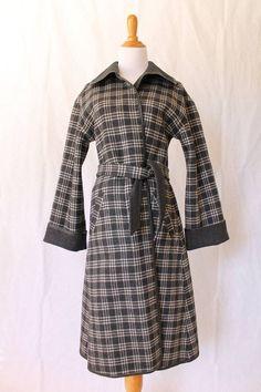 VINTAGE Pendleton Woolen Mills Beautiful Reversible Wool Blanket Coat size small #Pendleton
