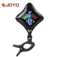 JOYO JT-02 Mini Clip On Digital Guitar Tuner USB Chargeable Lithium Battery Color Screen for Chromatic Bass Violin Ukulele #Affiliate