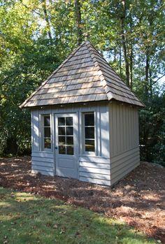 Pool Shed, Backyard Sheds, Outdoor Sheds, Ponds Backyard, Backyard Retreat, Outdoor Gardens, Shed Design, Patio Design, Garden Design