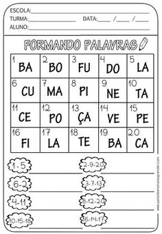 Adaptados Brownie brownie z mikrofali Portuguese Lessons, Learn Portuguese, Spanish Lessons, Homeschool, Teaching, Education, Classroom, Professor, 1