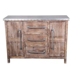 Create an industrial vignette anywhere in your home with the Privilege International 2 Door Accent Stand with 3 Drawers. This rustic unit features two cabinet doors and three drawers. A metal table top enhances the masculine style of this piece. Accent Furniture, Furniture Decor, Drawer Unit, 5 W, Wood Construction, Modern Industrial, Cabinet Doors, All Modern, Storage Spaces