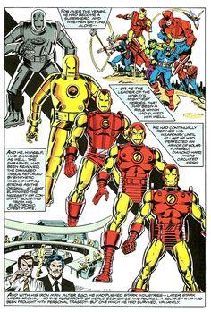 Iron Man Through The Ages