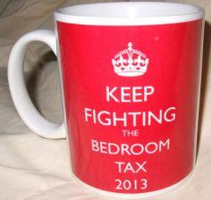 Anti bedroom tax poster