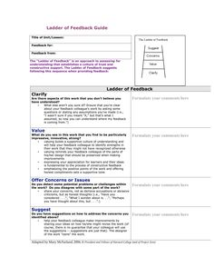 This Mary McFarland resource is a scaffold for providing feedback to students.