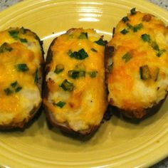 Big Green Egg:  Twice Baked Potatoes | The Lowcountry Lady