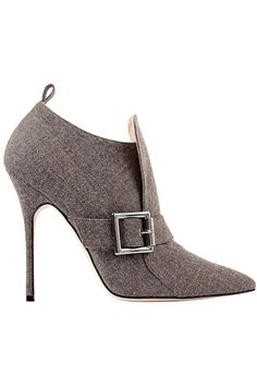 Zapatos de mujer - Womens Shoes - Manolo Blahnik - Shoes - 2013 Fall-Winter - womens wedding shoes, womens shoes and boots, womens vans shoes Hot Shoes, Crazy Shoes, Me Too Shoes, Shoes Heels, Pumps, Grey Heels, Stilettos, Grey Boots, Louboutin Shoes