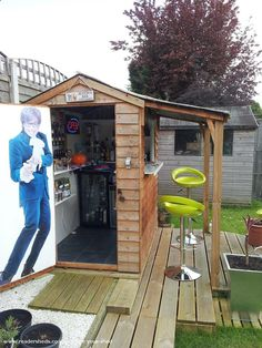 Shed Plans - Shed Plans - Pub/Entertainment from Garden | #shedoftheyear Now You Can Build ANY Shed In A Weekend Even If You've Zero Woodworking Experience! Now You Can Build ANY Shed In A Weekend Even If You've Zero Woodworking Experience!