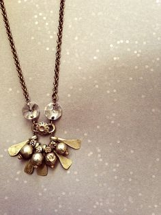 Silver ethnic necklace. Antique charms. Long boho von OddFibulae