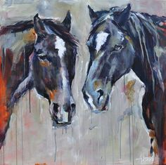 Our new blog is up! Andrée Hudson's artwork is a study in contrasts. She paints seated figures deep in thought, but also herds of stampeding cows and horses. Read more about her work here: http://sqb.co/HdX