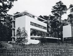 Hans and Wassili Luckhardt with Alfons Anker, Villa Kluge, Berlin, (1928)
