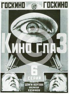'Cinema Eye', poster, 1924. Artist: Alexander Rodchenko