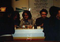 Signatura biografia de Sopa de Cabra al Sant Jordi 2002.
