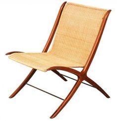 """Peter Hvidt & Orla Molgaard Nielsen """"X"""" Chair for Fritz Hansen"""