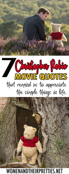 REVIEW: 7 Christopher Robin movie quotes that remind us to appreciate the simple things in life via @JoyceDuboise