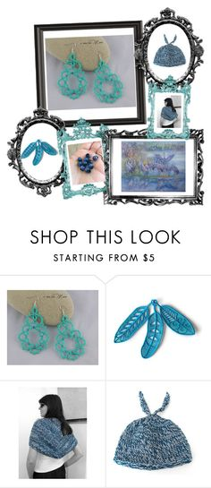 """""""Un tocco di azzurro"""" by acasaconmanu ❤ liked on Polyvore"""