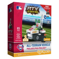 MLB Philadelphia Phillies Oyo Atv Toy Vehicle - 85pcs