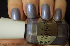 Never Gonna Give You Up: Kelara Lacquers I Love Lamp