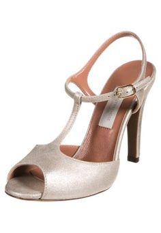 High Heel Sandaletten - oro chiaro / D'Archive by L'Autre Chose