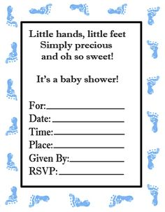 free printable baby shower invitations cute and easy baby shower invitations ideas 419x539