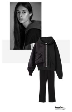 """""""/"""" by darkwood ❤ liked on Polyvore featuring Vans and Ailin"""