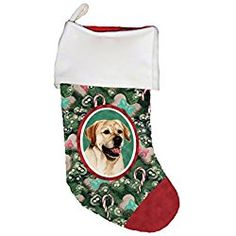Yellow Labrador - Best of Breed Dog Breed Christmas Stocking