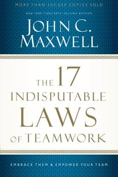 The 17 Indisputable Laws of Teamwork: Embrace Them and Em... https://www.amazon.com/dp/1400204739/ref=cm_sw_r_pi_dp_x_IH3-ybSQNHF42