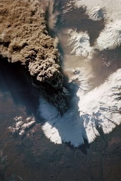 Aerial view of an active volcano Aerial Photography, Landscape Photography, Nature Photography, Mother Earth, Mother Nature, Lava, Active Volcano, Birds Eye View, Aerial View