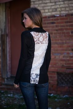 We're suckers for open-laced backs!