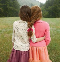 cute idea for twin girls... {if i had twins}