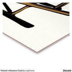 Tarjeta de la visita del pintor tarjetas de visita