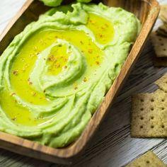 Hummus de aguacate y garbanzos - Dressings - Kitchen Recipes, Raw Food Recipes, Veggie Recipes, Appetizer Recipes, Cooking Recipes, Healthy Recipes, Vegetarian Menu, Dairy Free Diet, Nutrition