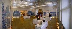 Coleção de Arte - Exposição - Sala de Estar - Azulejo - Museu do Açude - Castro Maia - Floresta da Tijuca - Alto da Boa Vista - Rio de Janeiro - Brasil