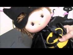 Batman (boneco de pano) pap /diy