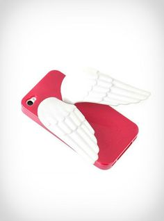 Kırmızı  3D Melek Kalatlı Soft Cpu Case Hipsin | Angela