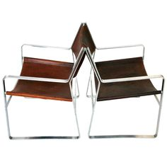 JH-812 Easy Chairs by Hans J. Wegner | From a unique collection of antique and modern armchairs at https://www.1stdibs.com/furniture/seating/armchairs/