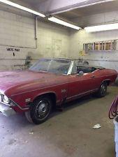 Chevrolet : Chevelle Malibu 1968 Chevelle Convertible Barn Find