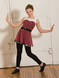 That Girl - Style 0466 | Revolution Dancewear Jazz/Tap Dance Recital Costume