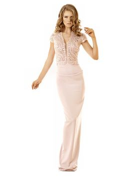 Jacketed evening dresses