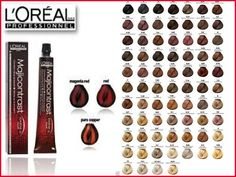 Majirel High-Lift does not cover white hair. It is possible however, to apply Majirel High-Lift to. L'Oreal Professional Majirel, Hair Colour Majirel has over 100 shades that can be tailored to create exactly the colour you are looking for. Wella Colour Chart, Loreal Hair Color Chart, Mixing Hair Color, Hair Dye Colors, Mens Hair Colour, Hair Color For Black Hair, Professional Hair Color, Professional Hairstyles, Grey Hair Dye