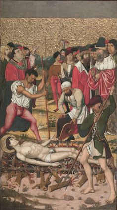 St. Vincent grills. Master of Castelsardo. c1500. | National Art Museum of Catalonia