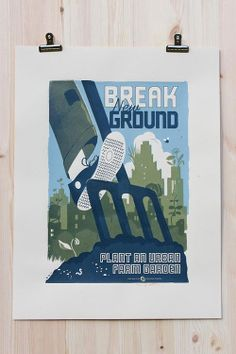 The Victory Garden of Tomorrow: Break New Ground poster