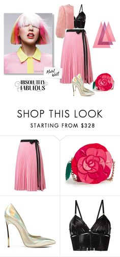 """""""Absolutely fabulous"""" by curlysuebabydoll ❤ liked on Polyvore featuring Tome, Kate Spade, Casadei, Bordelle and WALL"""
