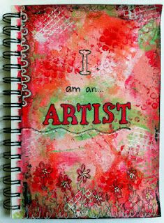 I am an artist I will never forget the first time I said that aloud and actually smiled from ear to ear :)