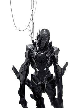 andrew.berg — rhubarbes: Mech by Anthony Jones. More robots...