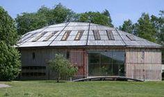 Gamla Uppsala Museum, built in 1999, architect Carl Nyrén.