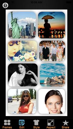 Best photo collage app for iPhone that is available free of cost on the Apple Appstore.