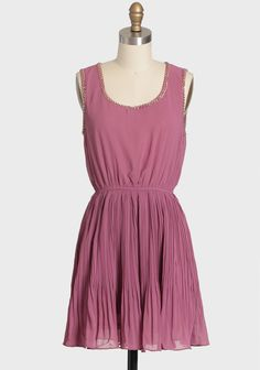 Persephone Pleated Chain Detail Dress 42.99 at shopruche.com. We