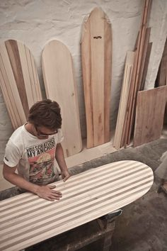 Wawa Wooden Surfboards - the workshop   Flickr - Photo Sharing!