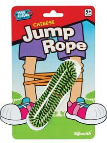 Chinese Jumprope (Colors May Vary). Available at OurPamperedHome.com